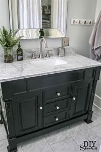 black bathroom vanities Best 25+ Black bathroom vanities ideas on Pinterest   Black cabinets bathroom, Bathroom cabinets ...