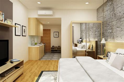 Desain Interior Kamar Tidur Bentuk L  Desain Rumah