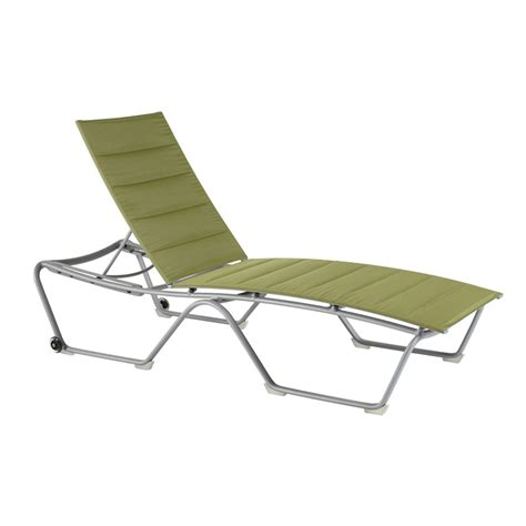 padded stacking chaise lounge krt concepts patio furniture
