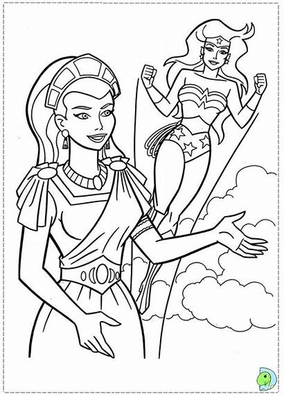 Wonder Woman Coloring Pages Printable Michael St