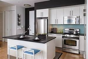 19 brilliant ideas for decorating small modern kitchens 1415