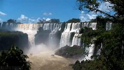 Amazing Gifs Falls Water Beyond