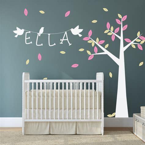 Babyzimmer Wandgestaltung Baum by 35 Wandtattoos Baum Die Einen Hauch Natur Nach Hause
