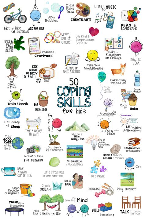 coping skills school counseling lesson posters 184 | 2783ee04424b9ae51b7efdbdfa4691af