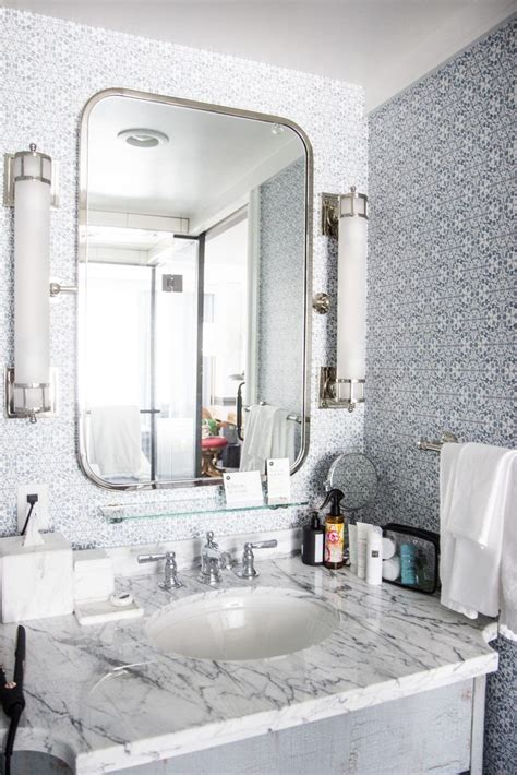 stay   pendry hotel san diego marble bathroom
