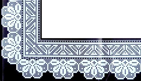 bordure uncinetto per mensole raccolta di bordi all uncinetto e crochet punti e spunti