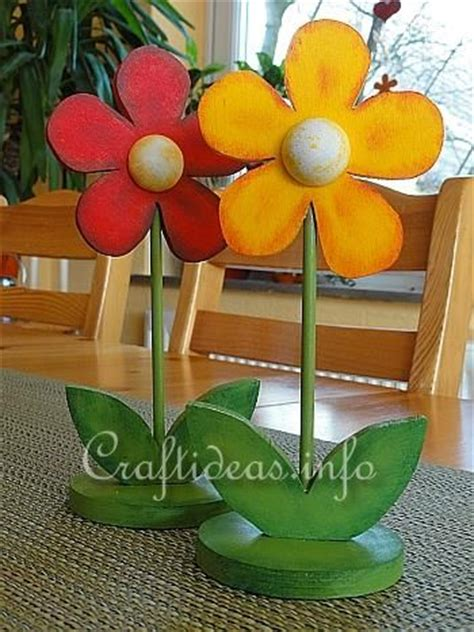 Wood Crafts Spring Flowers