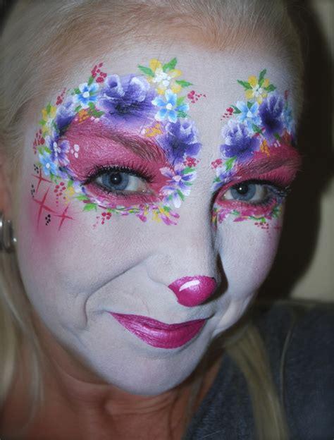 verblueffende clown schminken vorschlaege