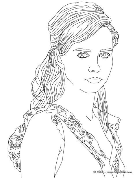 nora tschirner german actress coloring pages hellokidscom