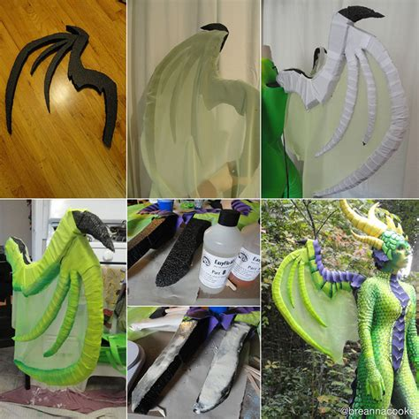 handcrafted dragon cosplay