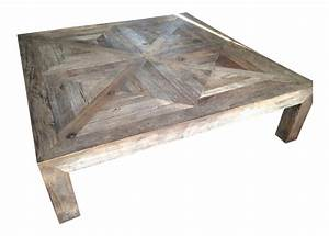 restoration hardware reclaimed wood coffee table chairish With restoration hardware reclaimed wood coffee table