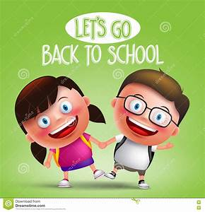 Happy Cute Boy Going Back To School Stock Image ...