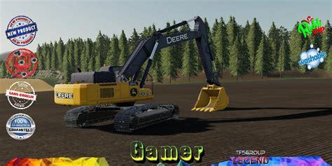 excavator deere    fs  forklifts excavators farming simulator  mods mods