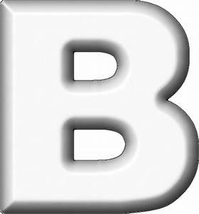 presentation alphabets white refrigerator magnet b With white letter magnets