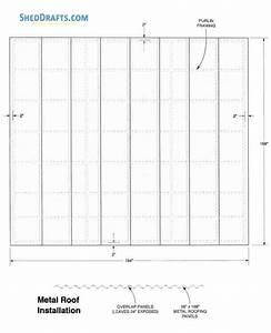 12 U00d712 Lean To Storage Shed Plans Blueprints To Set Up