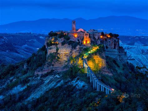Italy Civita Di Bagnoregio 2017 Bing Desktop Wallpapers