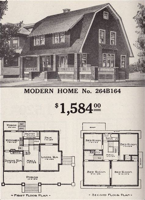Colonial Revival House Plans by 1900 Sears Homes And Plans Colonial Revival