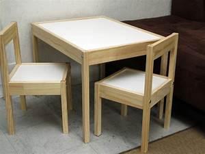 Table Enfant Avec Chaise : personnaliser un meuble pour enfant choisir les meubles maisonapart ~ Teatrodelosmanantiales.com Idées de Décoration