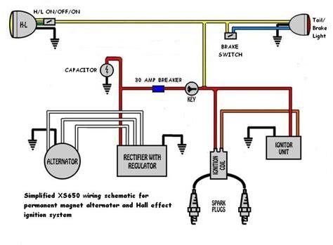 xs650 chopper wiring diagram 28 wiring diagram images