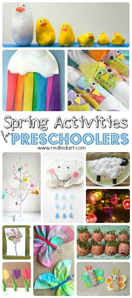 easy spring crafts  preschoolers  toddlers