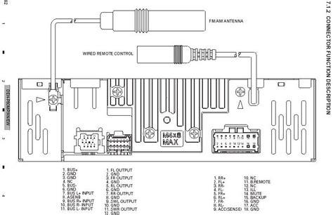 Pioneer Car Radio Wiring Diagram by Pioneer Deh 6 Wiring Diagram Repair Manual