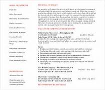 Car Salesman Resume car salesperson resume Resume Summary Sales Resume Auto Sales Resume And Car Sales Resume