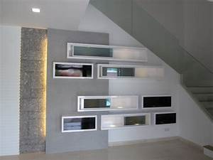 Feature wall & Display cabinet