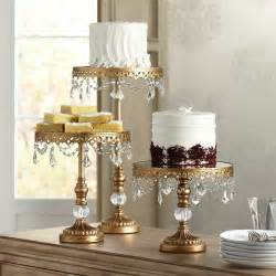wedding cake stand gold antique gold beaded large cake stand ebay
