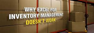 4 Reasons Why Excel for Inventory Management Doesn't Work