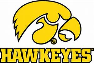 University of Iowa Wall Decals Hawkeyes Tigerhawk