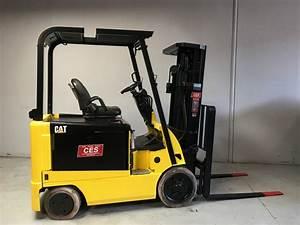 Ces  20455 Cat Ex5000-ac Electric Forklift