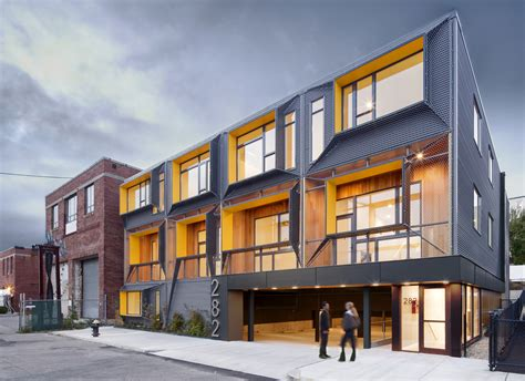 marginal street lofts merge architects  archdaily