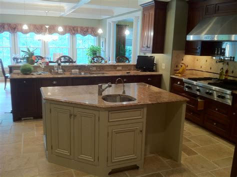 kitchen cabinet refacing island cabinet refinishing kitchen remodeling in rhode island 7926