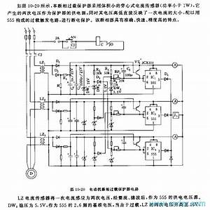 555 Motor Phase Failure Overload Protector Circuit
