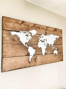 Weltkarte Bild Holz : die besten 25 weltkarte ideen auf pinterest weltkarte ~ Lateststills.com Haus und Dekorationen