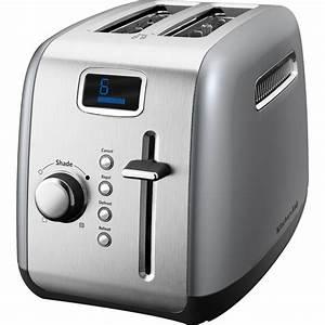 Kitchen Aid Toaster : kitchenaid 4 slice toaster with manual high lift lever and digital display empire red ~ Yasmunasinghe.com Haus und Dekorationen
