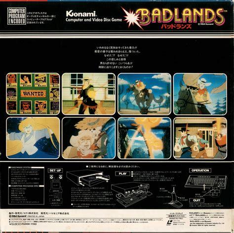 badlands  msx konami releases generation msx