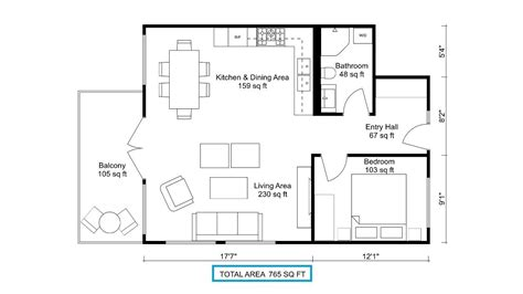 Calculate The Total Area Of A Floor Plan-roomsketcher