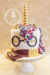 Harry Potter Unicorn Cake - cake by Rachel - CakesDecor