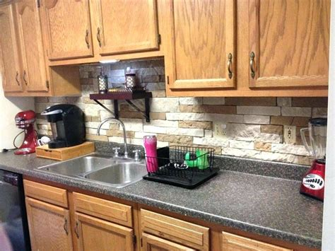 exposed brick kitchen backsplash best kitchen backsplash ideas painted tiles for 7104