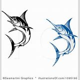 White Marlin Jumping   400 x 420 jpeg 35kB