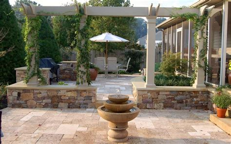 travertine patio design ideas pictures