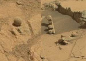ET-spotters get excited about 'alien crablike monster' on Mars