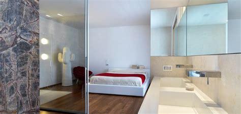 chambre avec salle de bain ouverte top 10 des salle de bains design ouvertes sur chambre