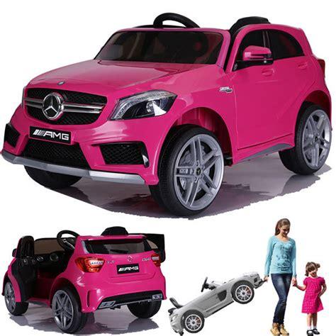 Mercedes A45 Amg Kinderauto Kinderfahrzeug Kinder Elektroauto Gefedert 2xmt Pink Ebay