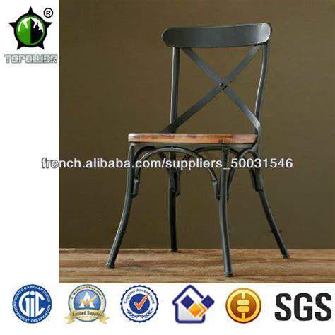 chaises style industriel loft mode de style industriel en métal chaise chaises en