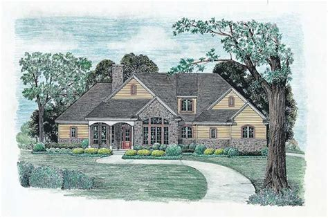 Plan #120 1977 : 3 Bedroom 2203 Sq Ft Ranch Traditional