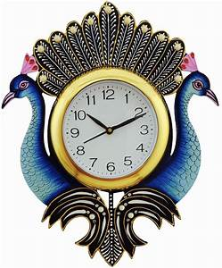 2 modern design wall clocks zamp 100 designer wall for Funky wall clocks online india