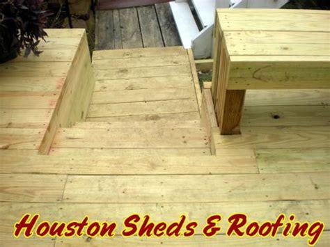 sheds fences decks decks patios wood decks