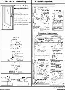 Yale 2110  2170  1810 Surface Vertical Rod Exit Device